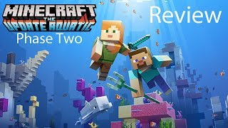 Minecraft Aquatic Update Phase Two Gameplay Review: Turtles Taming!