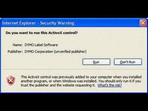 how to enable activex control for windows 7 Windows 8 1 Windows 8