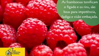 Beneficios das framboesas
