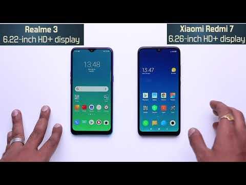Realme 3 vs Redmi 7: comparison overview [Hindi हिन्दी]