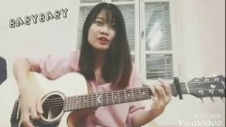 [#BABYBABY COVER CONTEST] BABY BABY - MONSTAR Sing and Guitar Cover by Quỳnh Anh