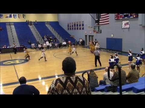 Halia Ellis' King George High School Basketball Highlights