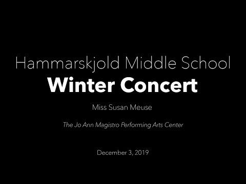 2019 7th Grade Hammarskjold Middle School  Orchestra Winter Concert
