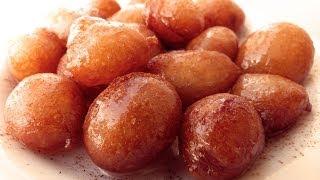 Лукумадес локма рецепт | Сладкие пончики в сиропе
