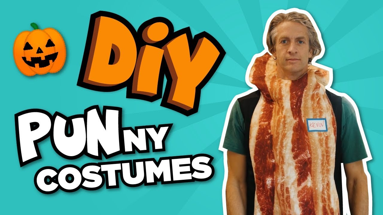 Diy Punny Halloween Costumes Last Minute Costumes Youtube