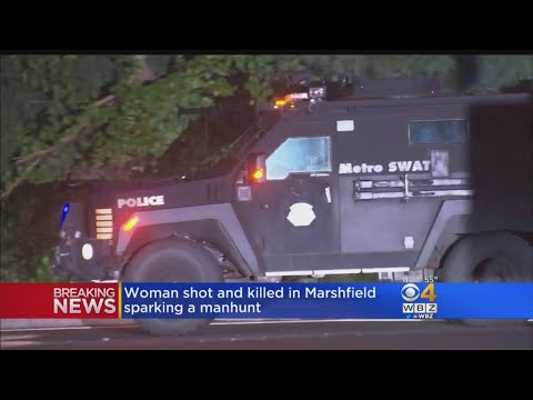 Woman Shot, Killed In Marshfield Sparking Manhunt