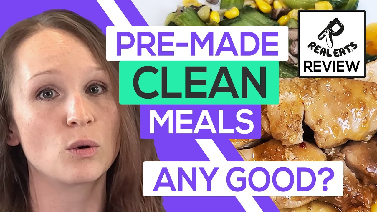 🍲 RealEats Review 2020: Boil-In-Water, Clean Pre-Made Meals Any Good? (Taste Test) HD (720p)