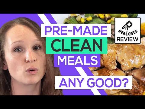 🍲 RealEats Review 2020:  Unboxing & Meals (Taste Test) - Видео онлайн