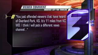 News anchor responds to viewer who says it