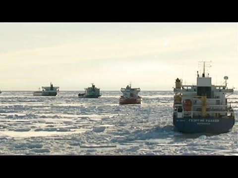 В России построят первый российский танкер газовоз ледового класса