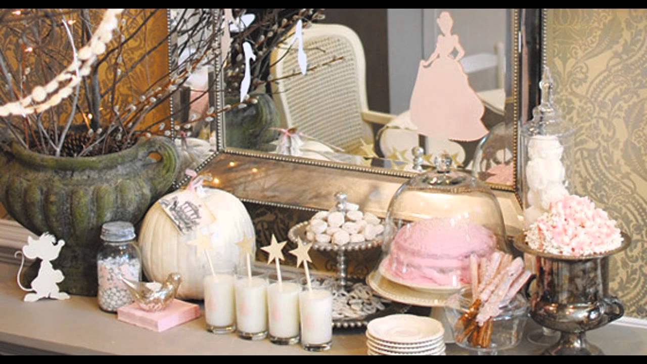 Beautiful Cinderella Party Decorations Ideas Youtube