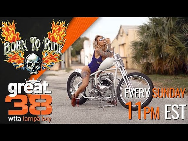 This Week on Born To Ride TV Episode #1256 - GAMS Kelly Willet, Tiny Trailer Nation