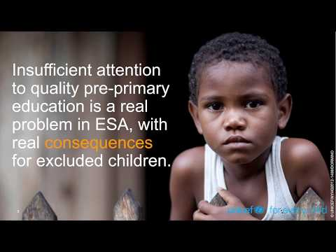 UNICEF Education Think Piece #2: Quality Pre-Primary Education