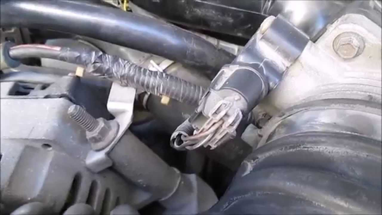 Testing and Replacing A Throttle Position Sensor Ford