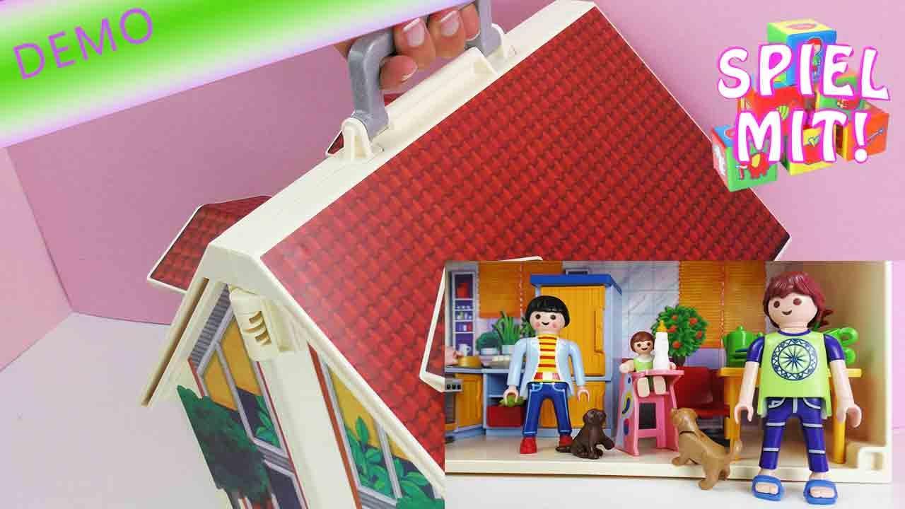 Playmobil Puppenhaus Deutsch Dieses Puppenhaus Kann Man Mitnehmen