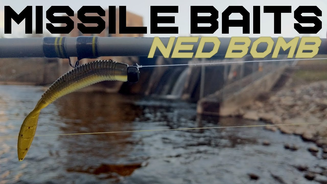 Fishing the New Missile Baits Ned Bomb - First Impressions