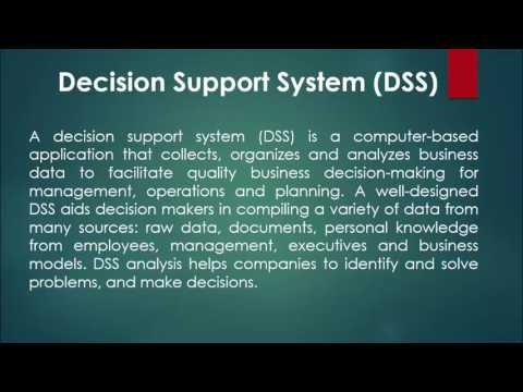 Decision Support System | DSS in Hindi