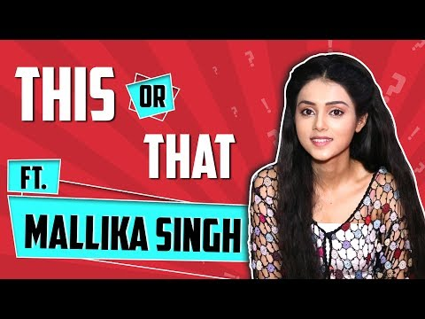 Mallika Singh Plays This Or That With India Forums   Choices Revealed   Radha Krishn