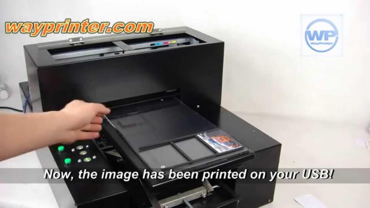 usb credit card flash drive id card a4 flatbed printer - Credit Card Printer