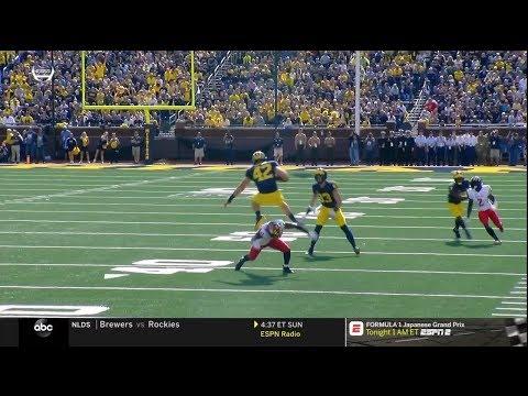 2018 Michigan Football Highlights v Maryland