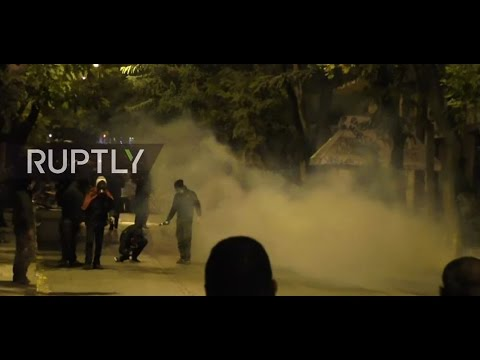LIVE: Protests during Obama's visit to Athens