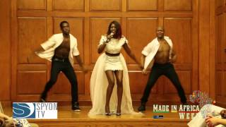 Zaina performs @ Made In Made Africa Week 2014: Fashion Show