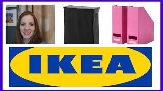 Let's Go Shopping:  Ikea Haul | Home Decor & Laundry Room Organization