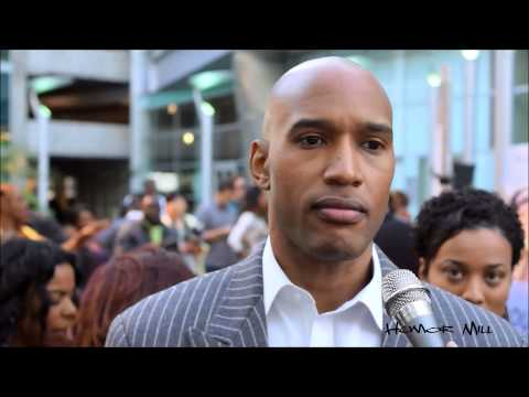 With Henry Simmons 'FROM THE ROUGH' Red Carpet