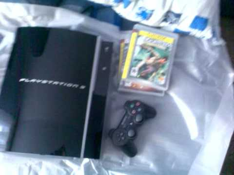 Unboxing Of My New PS3 80GB With 3 Games