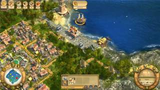Anno 1701 - Mission 9 - Back to Former Glory - Walkthrough Gameplay PC
