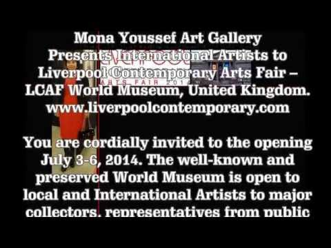 Mona Youssef Gallery at Liverpool Contemporary Arts Fair, 2014