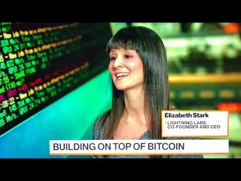 Lightning CEO Elizabeth Stark On Bloomberg, Future Of Bitcoin