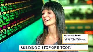 Lightning CEO Elizabeth Stark on Bloomberg, Future of Bitcoin