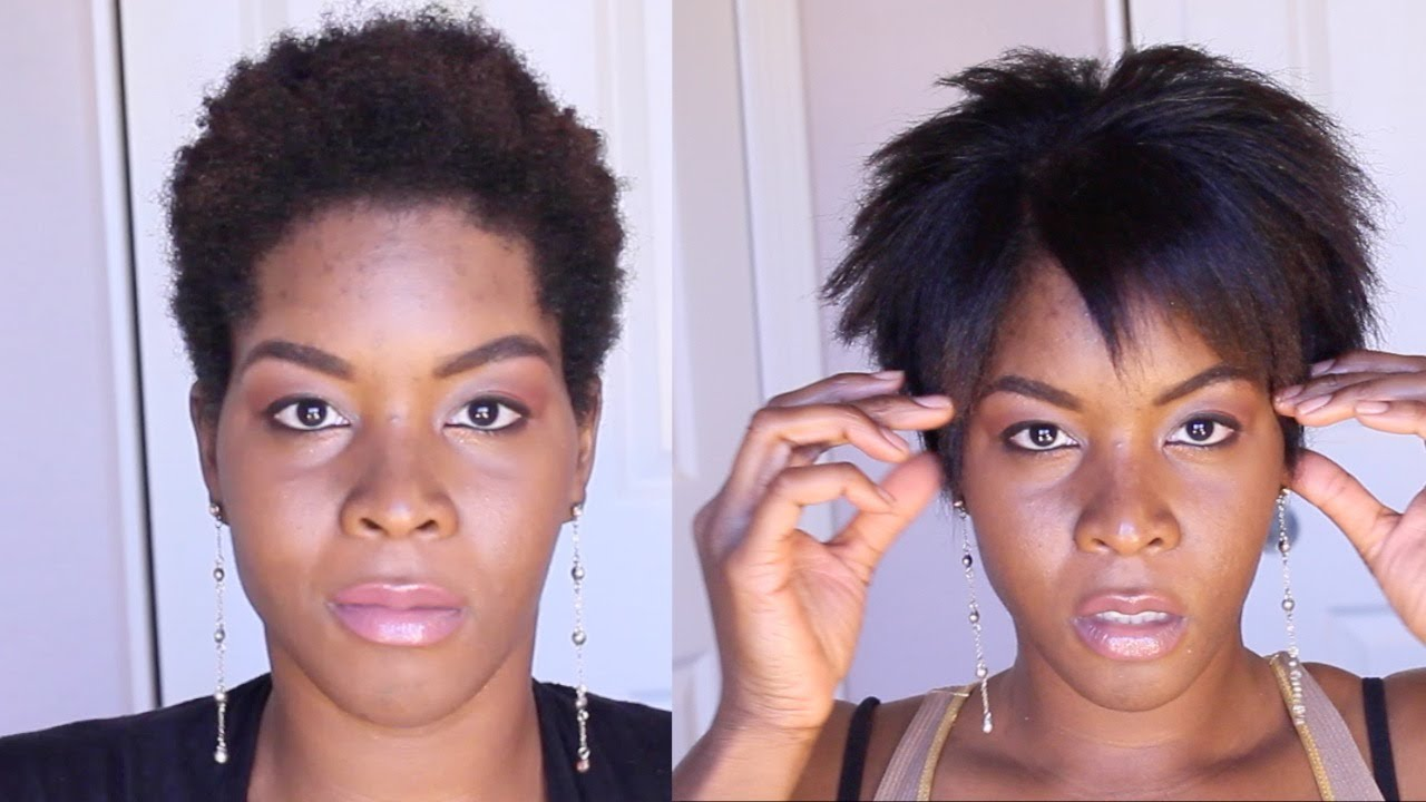 How To Straighten Kinky Hair With Aveda S Naturall Youtube