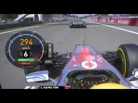 SCHUMACHER vs Hamilton EPIC BATTLE ONBOARD F1 2011 Monza Mp3
