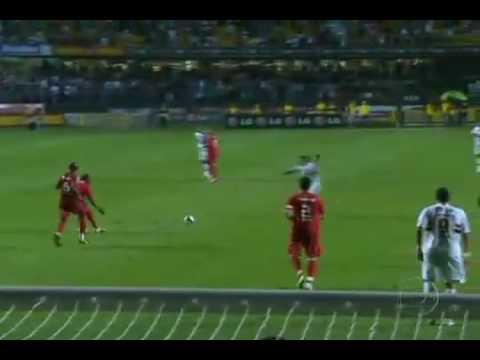 Gol de Jean contra o Internacional - 28/10/2009 - São Paulo 1 x 0 Internacional