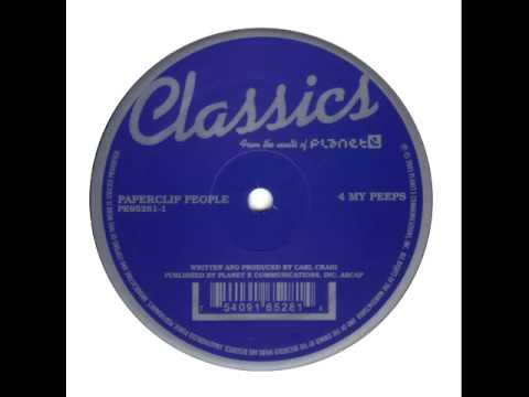 Paperclip People - 4 My Peeps