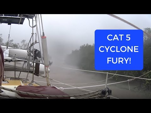 Mighty Tropical Cyclone Debbie Shows Us Her Fury (Sailing SV Sarean) Ep. 3