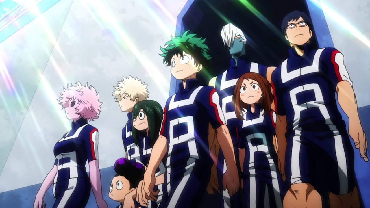 Boku no hero academia season 2 pv trailer live reaction sports festival youtube - Boku no hero academia two heroes online ...