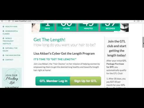 Cyber Get The Length 2017, with The Hair Doctor Trichologist Lisa Akbari