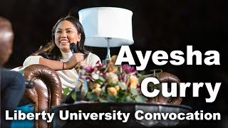 Ayesha Curry - Liberty University Convocation