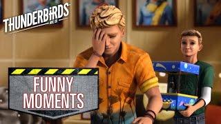 Repeat youtube video Funny Moments From Season 2! | Thunderbirds Are Go