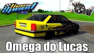 Live for Speed - Omega 3.0 Aspirado do Lucas (G27 mod)