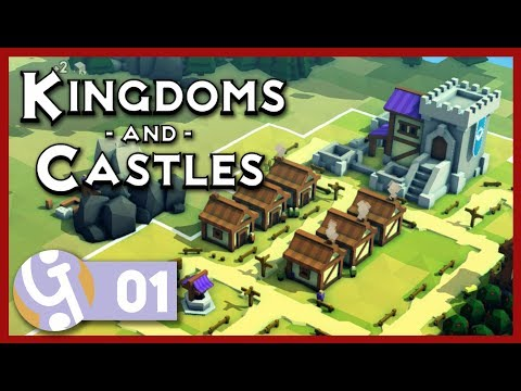 🏰 Thar be Dragons! | Let's Play Kingdoms and Castles #01