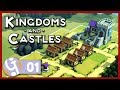 🏰 Thar be Dragons!   Let's Play Kingdoms and Castles #01