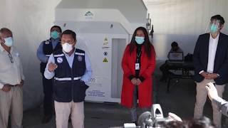 Planta de oxígeno para el Hospital