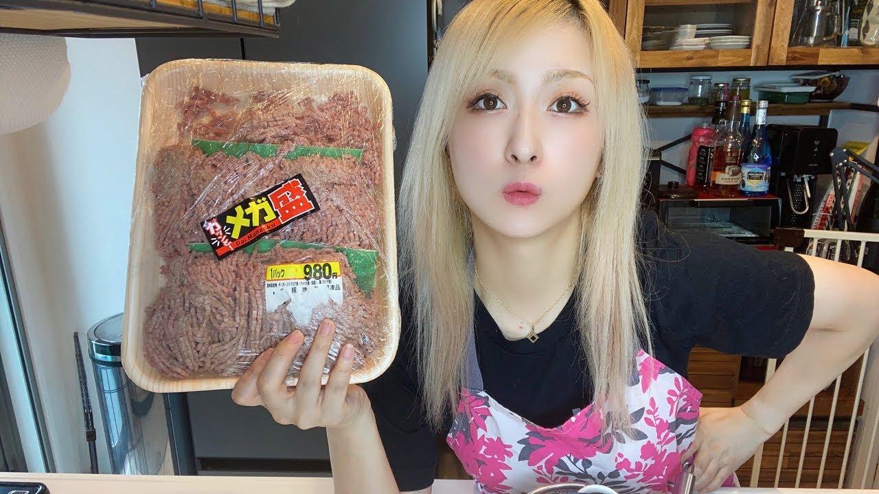【🔴水曜飲むでしょう】メガ盛ひき肉を消費したいのでハンバーグをアホほど作る【乾杯ライブ】