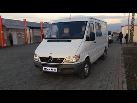Mercedes-Benz Sprinter груз. NCV3 II покоління (рестайлінг) Фургон