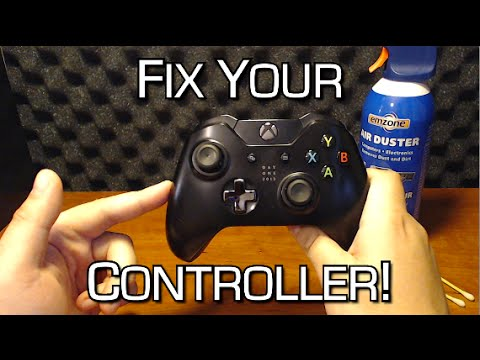 "How To Fix Sticky or ""Broken"" Analog Sticks - Stick Drift Solution - Xbox One Controller"