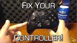 how to fix xbox controller drift